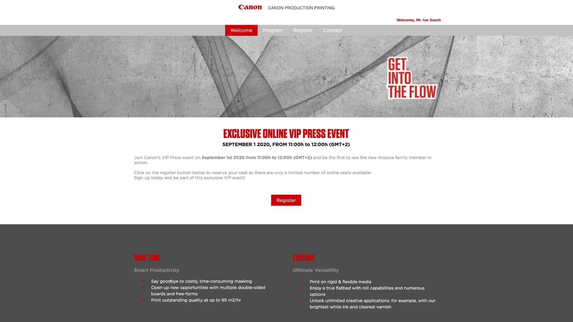 Crossmedia campaign